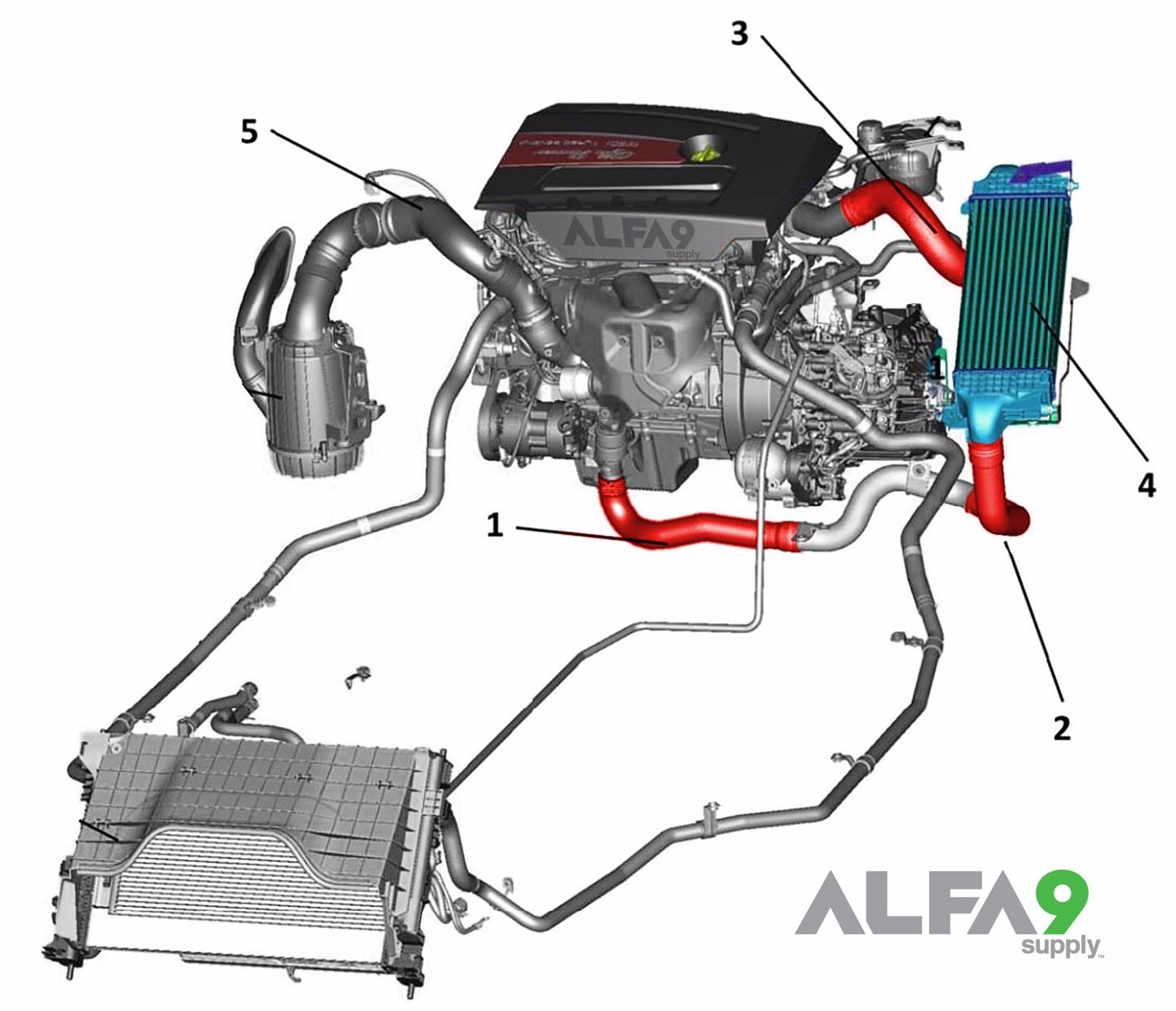 Alfa Romeo 4c Engine Diagram Wiring 156 Electrical Stock Intercooler Hoses Not Strong Enough Forums 2014 Gta