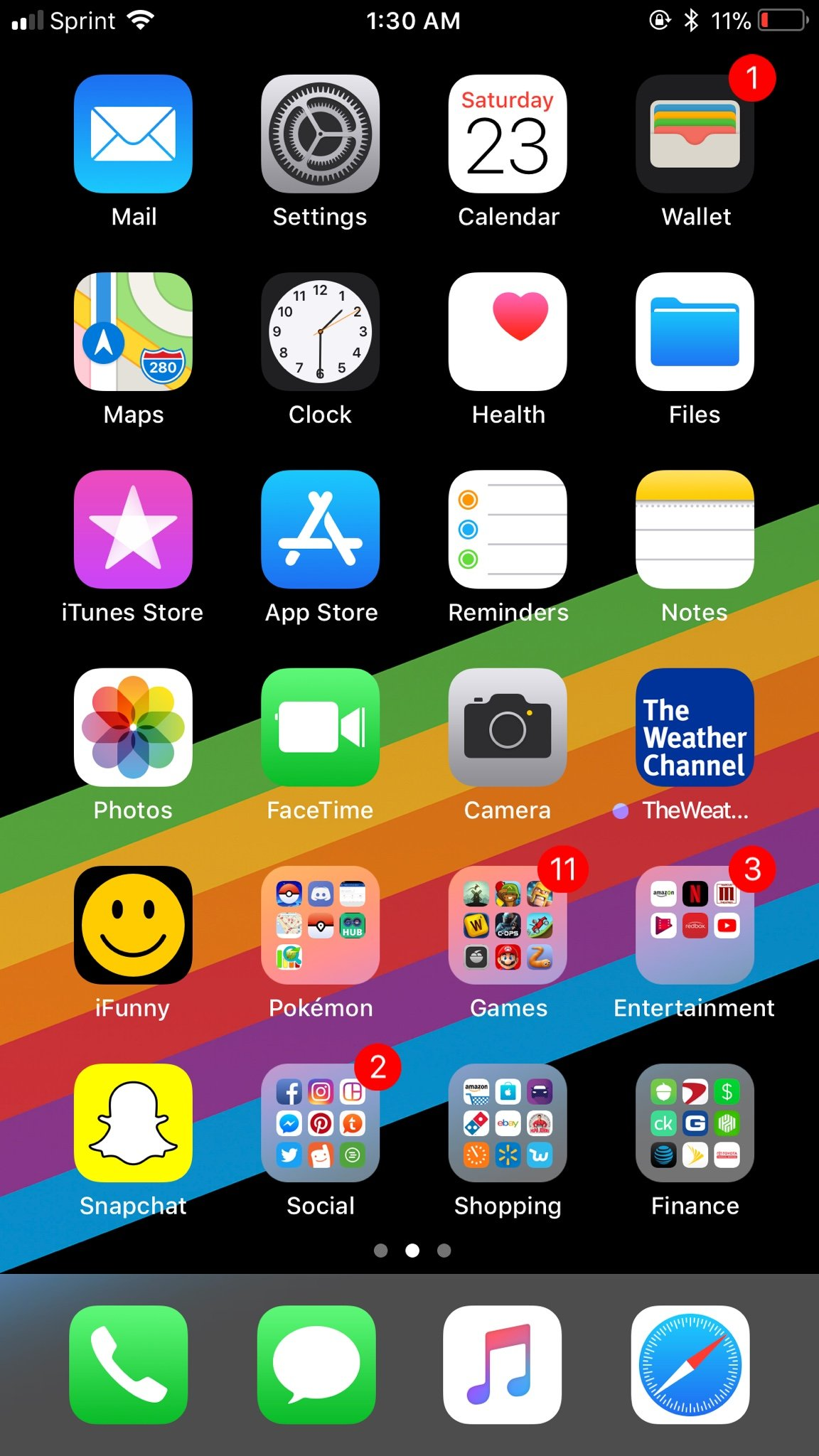 iPhone 8 Plus | Show Us Your New Home Screen (After Setup!)