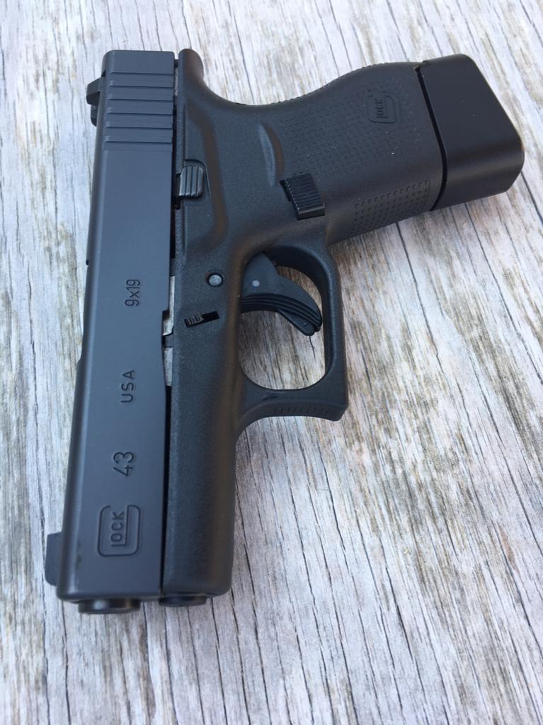 nc glock 43 talo w extras carolina shooters club