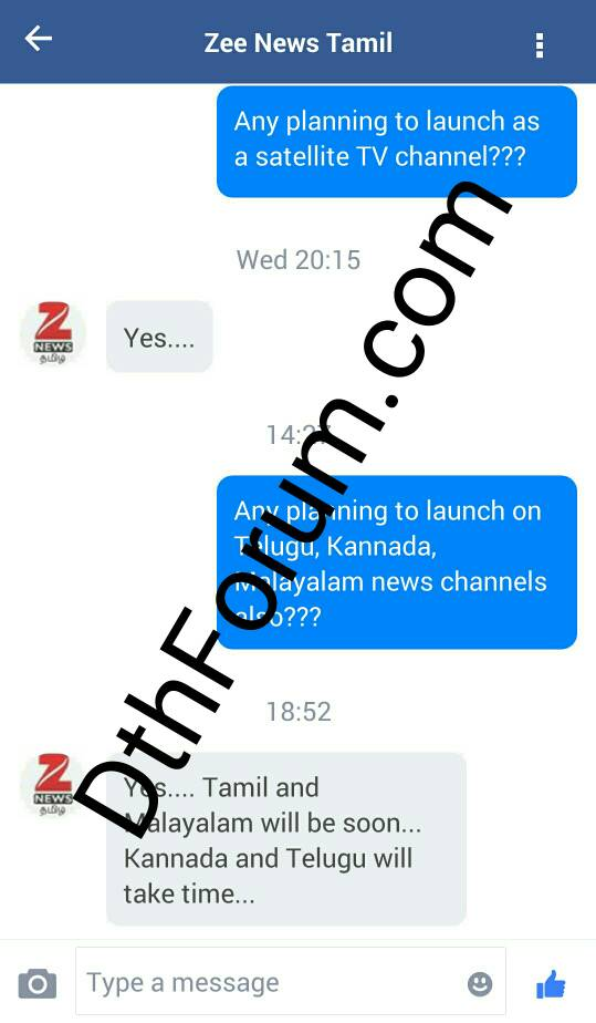 Breaking News - Zee Media is planning to launch Tamil & Malayalam