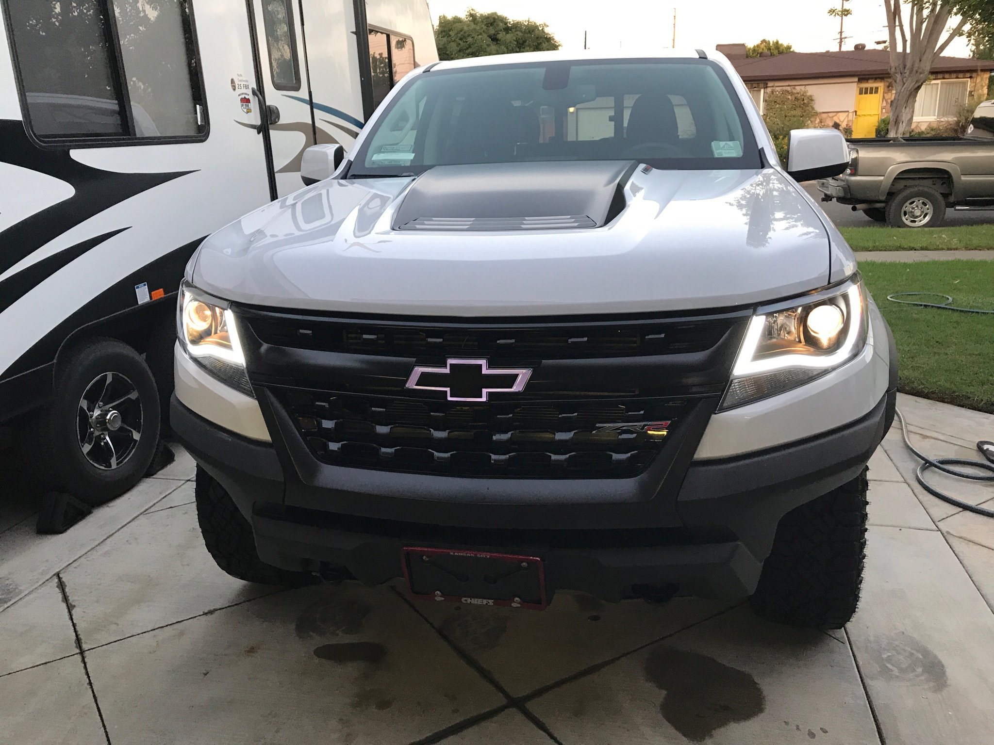 Anzo Headlight Install Question For Zr2 Chevy Colorado