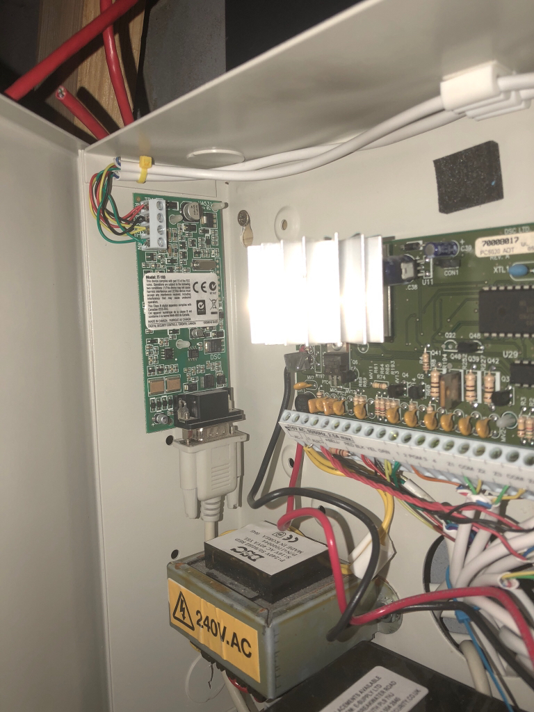 Indigo Domotics View Topic It 100 In Panel Box Wiring All The Side Holes Should Fit Standard Pc5003c Cabinet
