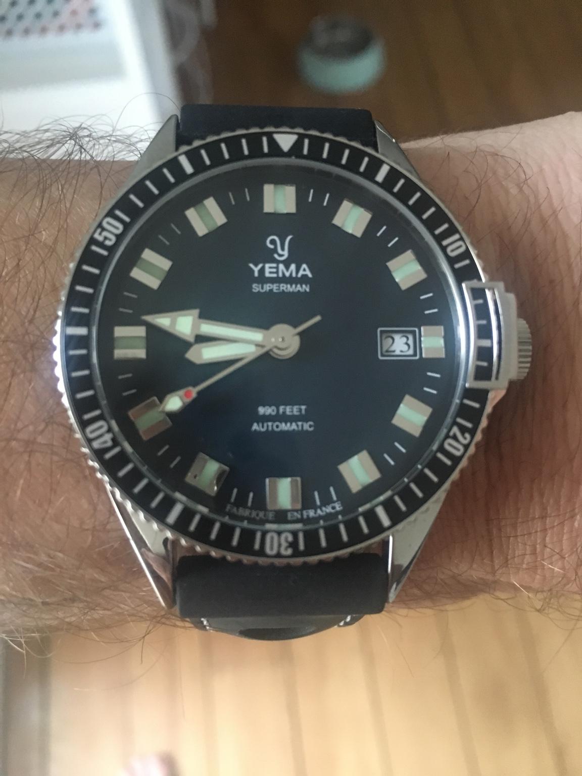 Yema Superman - Replica Watch Info