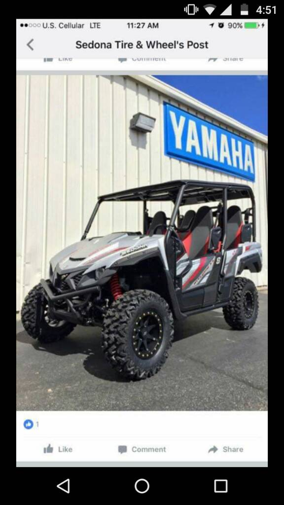 Yamaha Wolverine X4 [Archive] - Page 2 - Hot Rod Forums