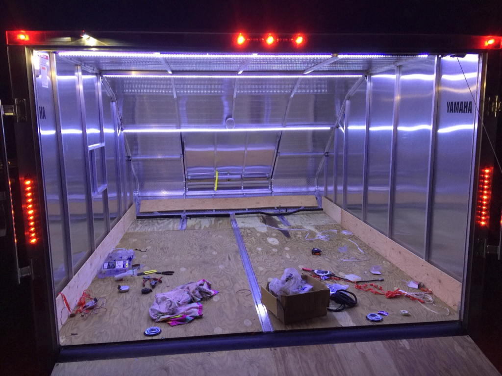 Installing LED strips in enclosed trailer General Discussion