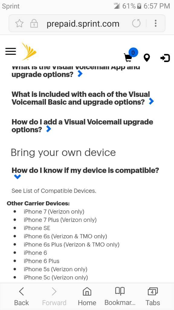 BYOD Sprint Prepaid