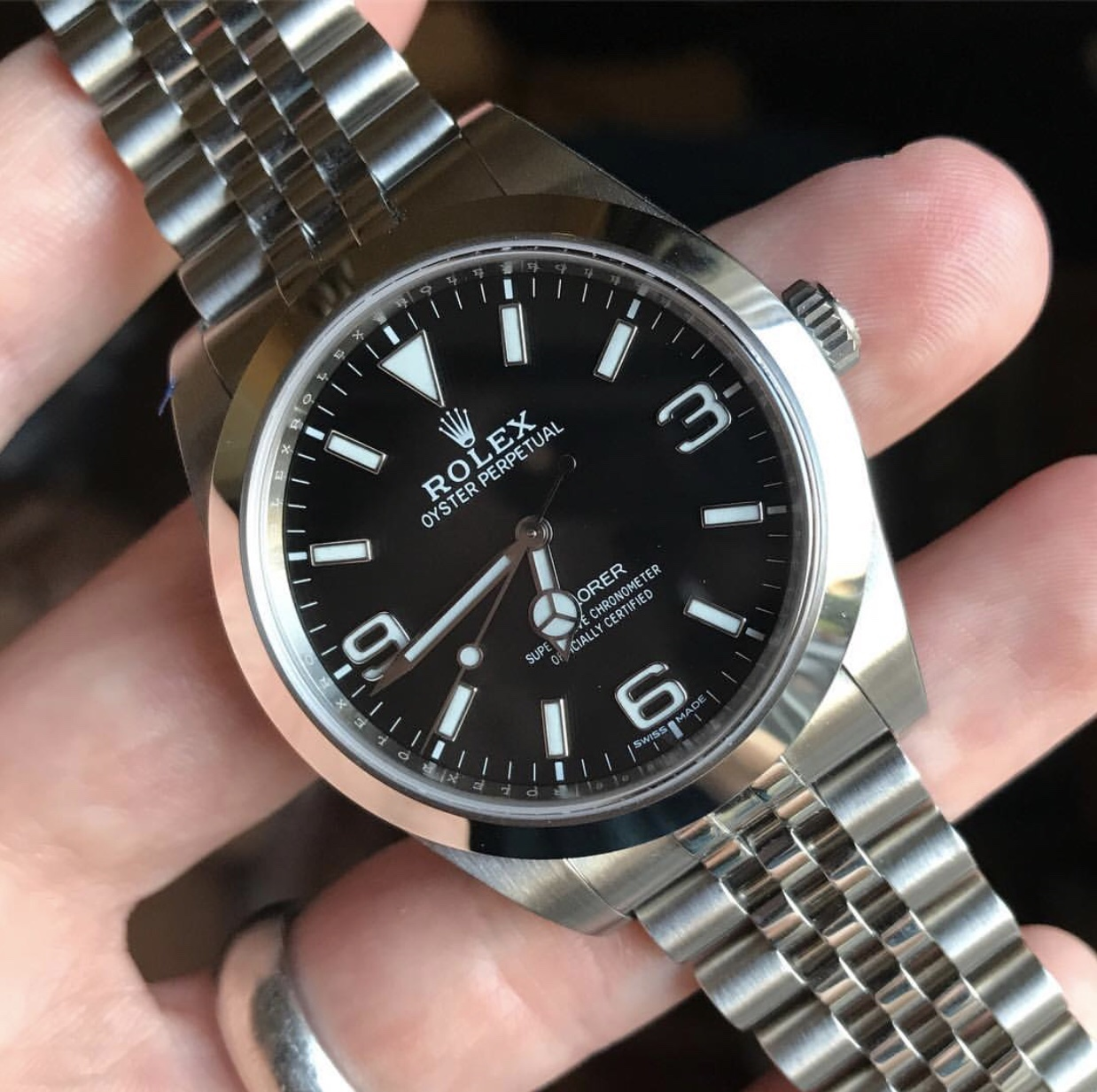 Explorer 214270 on a jubilee? , Rolex Forums , Rolex Watch Forum