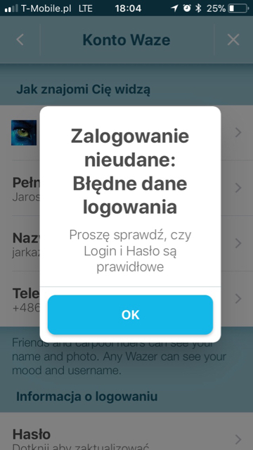 waze com • View topic - Login/Account problems & issues