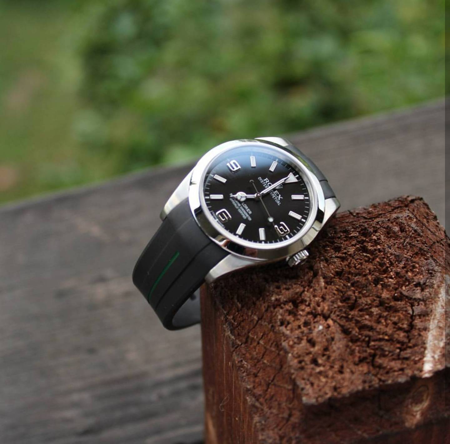 Explorer I on rubber , Rolex Forums , Rolex Watch Forum