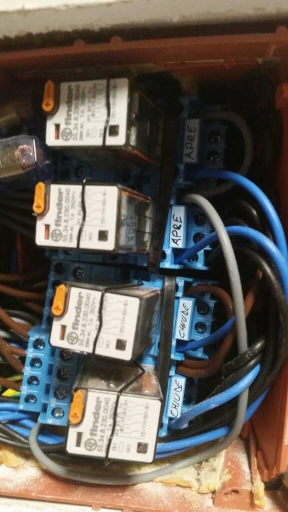 Schema Elettrico Per Motore Tapparelle : Tapparelle elettriche aggiungere telecomando