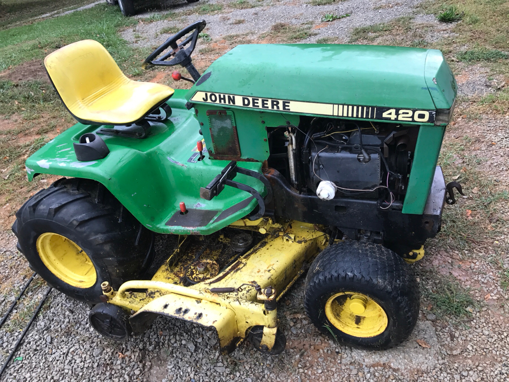 New To Me 420 Wiring - Mytractorforum Com