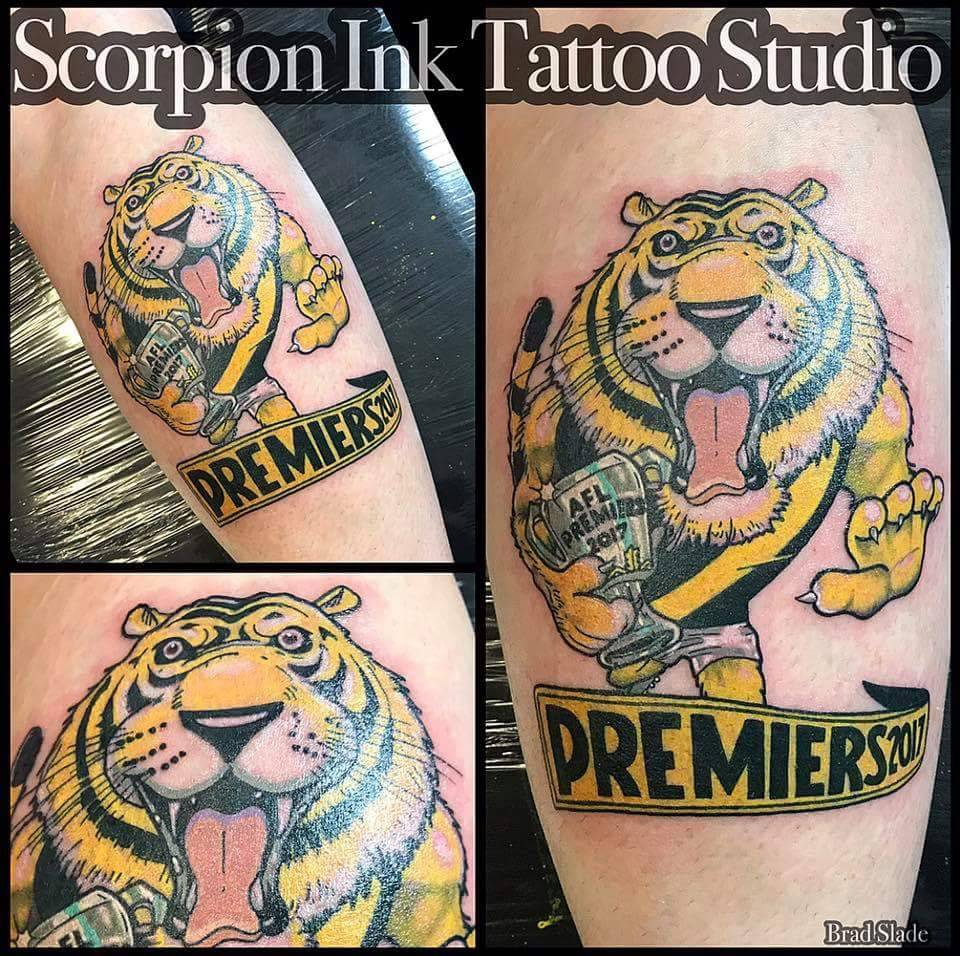 Richmond Tattoo: Premiership Tattoos