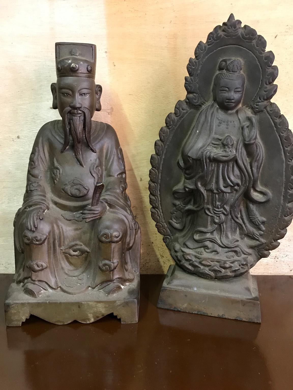 Giao lưu vài pho tượng đồng đẹp