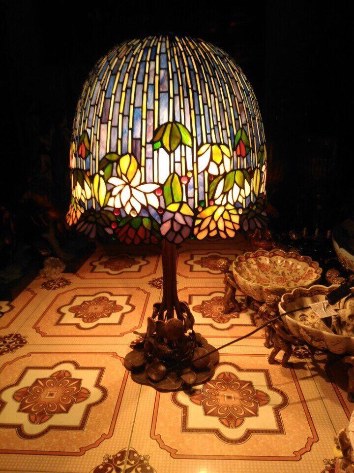 đèn tiffany châu âu