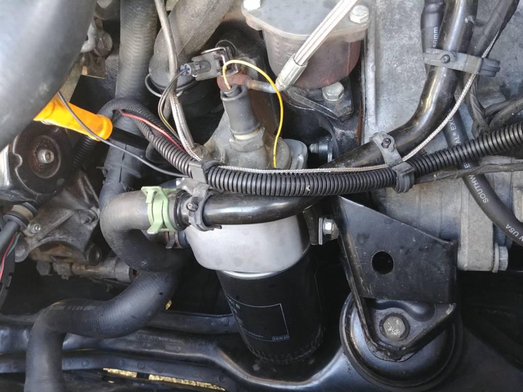 OEM vw oil cooler warmer delete        will the turbo