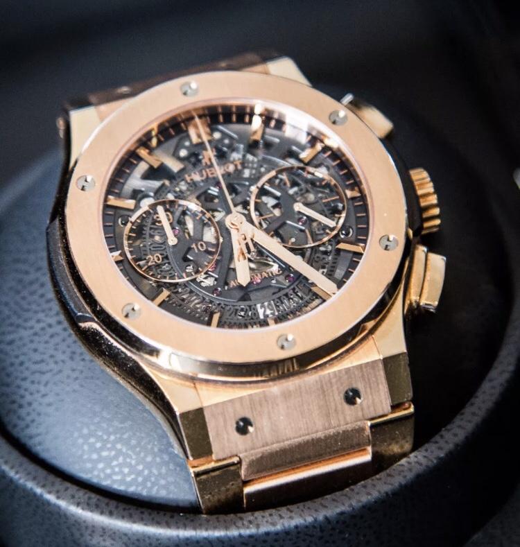 FS: Hublot Classic Fusion Aerofusion Chronograph 45mm Rose Gold 18k |  WatchUSeek Watch Forums