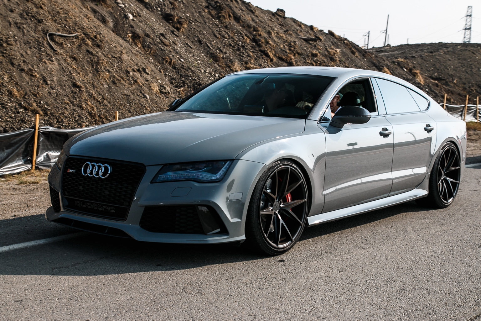 for sale 2015 audi rs7 nardo grey stage 2 and more. Black Bedroom Furniture Sets. Home Design Ideas
