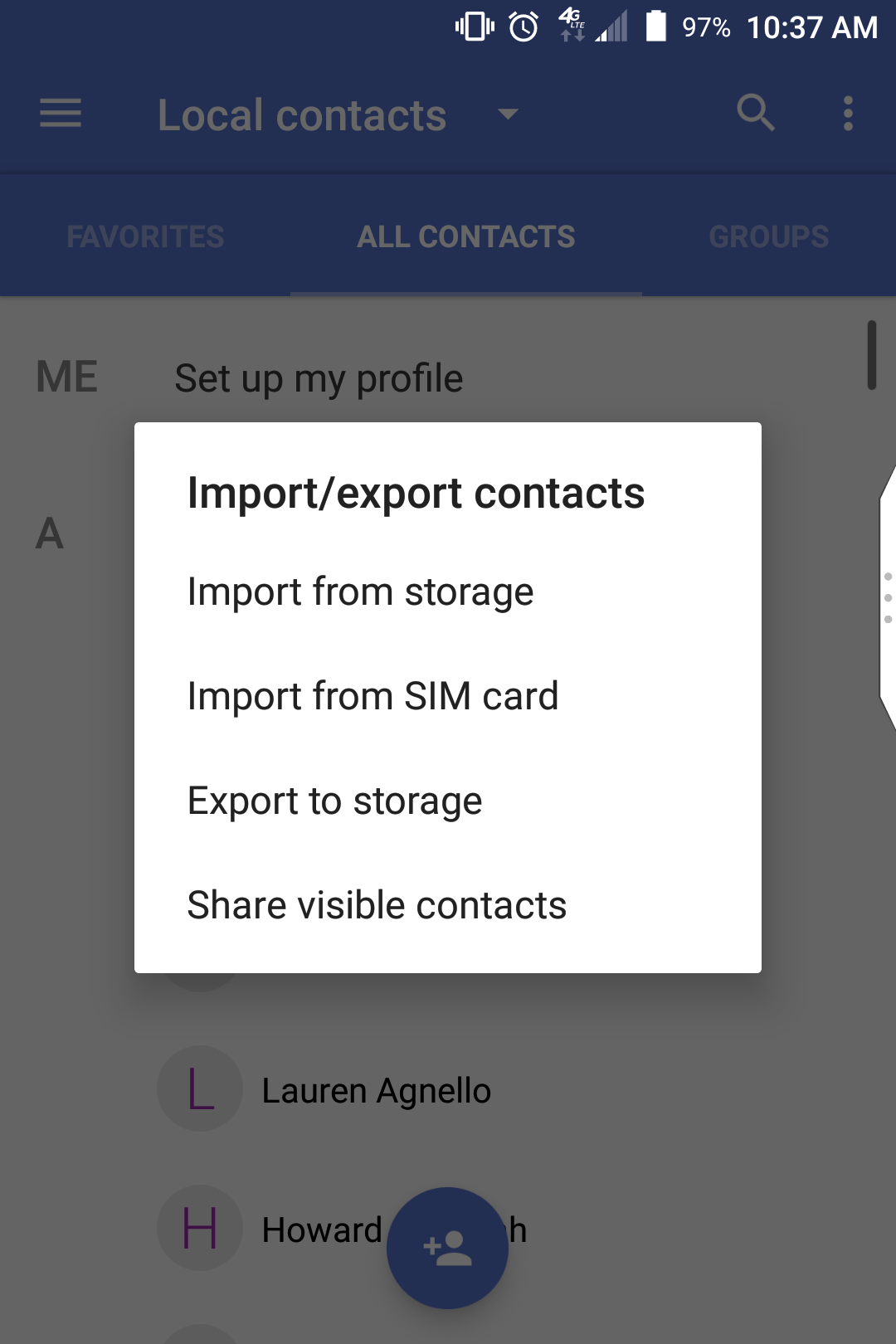 Export contacts to SIM on KEYone? - BlackBerry Forums at