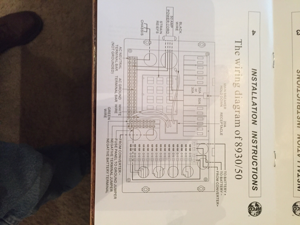 Solved  Both Ac U0026 39 S Run On 50 Amp Shore But Not Generator