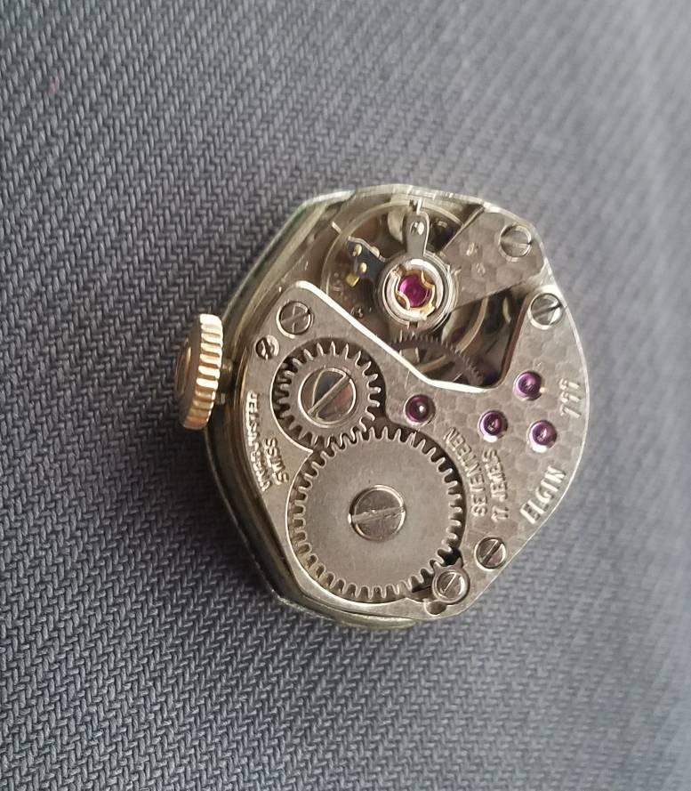 Đồng hồThụy Sỹ ELGIN 10 KT GP