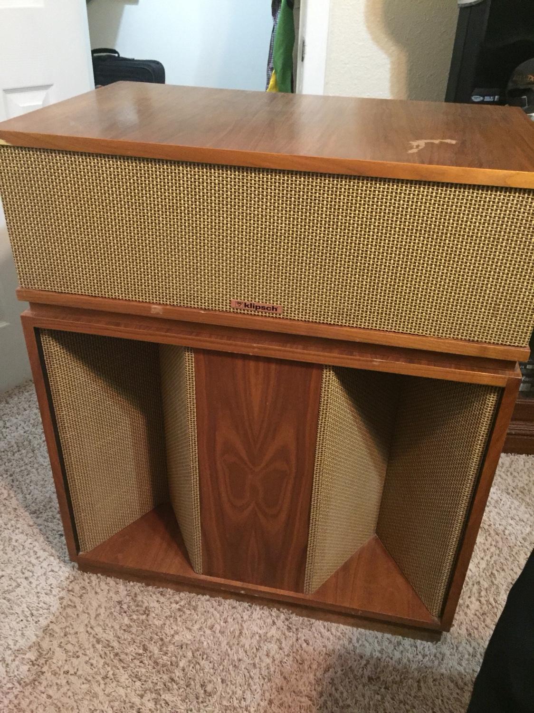 Belle Klipsch Speakers For Sale Garage Sale The