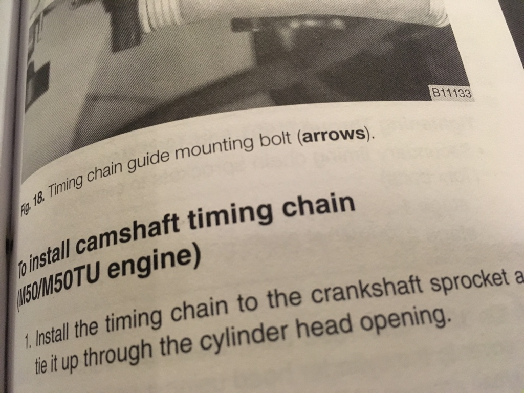 Jumped timing chain? - Bimmerfest - BMW Forums