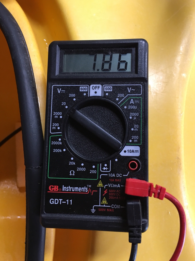 Fish finder battery woes