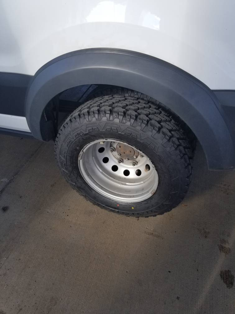 Sante Fe Ford >> Upgrade tires on 2015 transit 350 drw - Ford Transit USA Forum