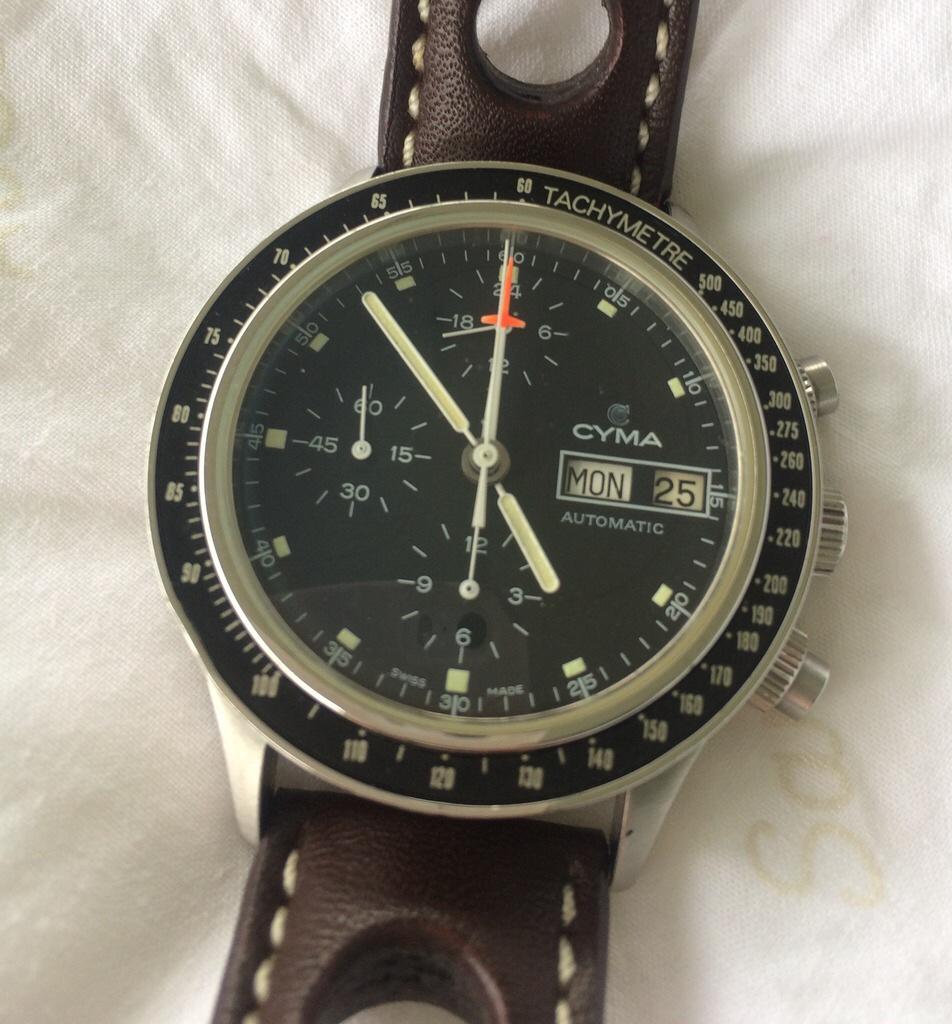 Fortis Stratoliner με μηχανή Lemania 5100 - Vintage ρολόγια