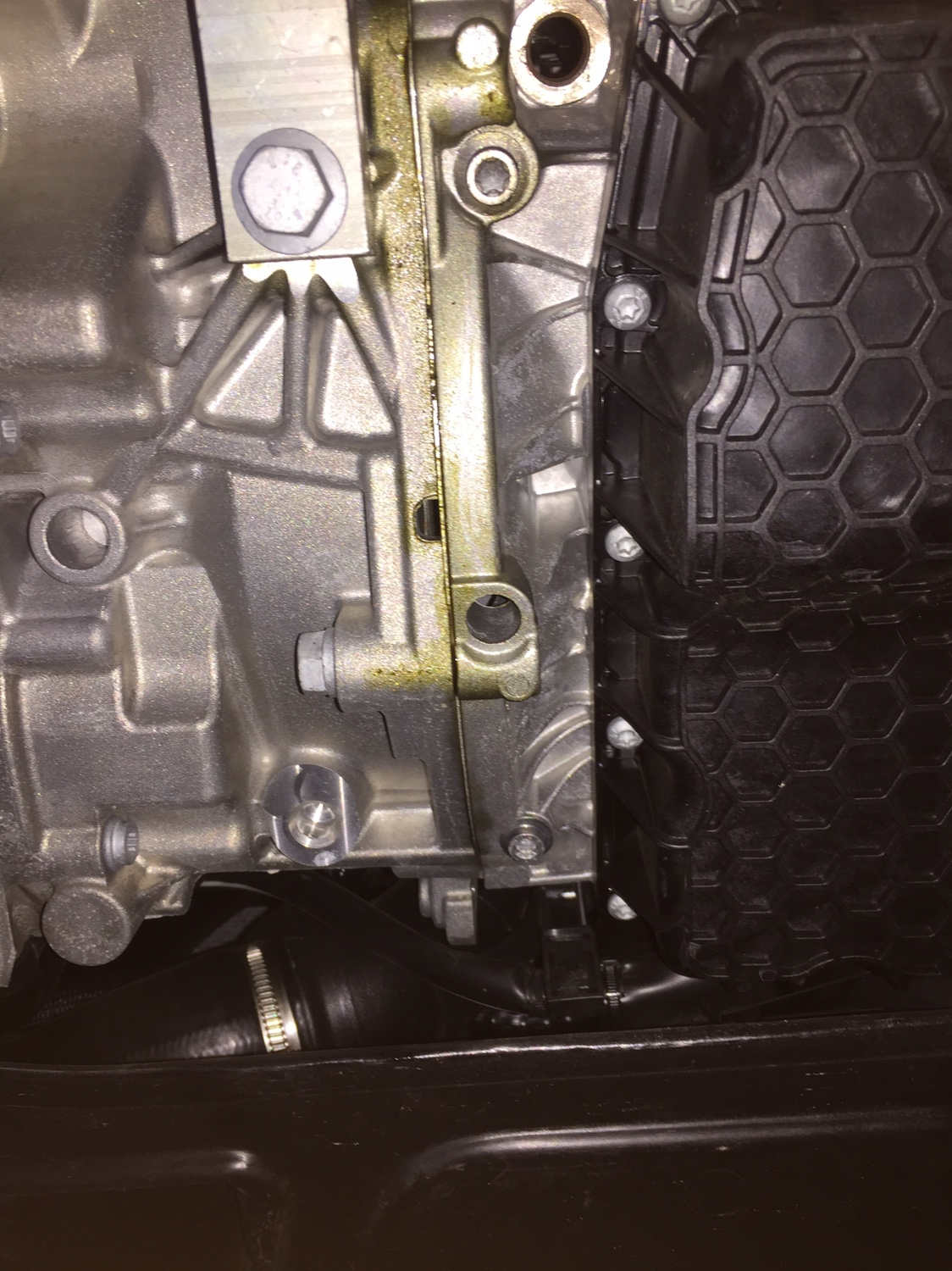 2015 vw gti oil leak