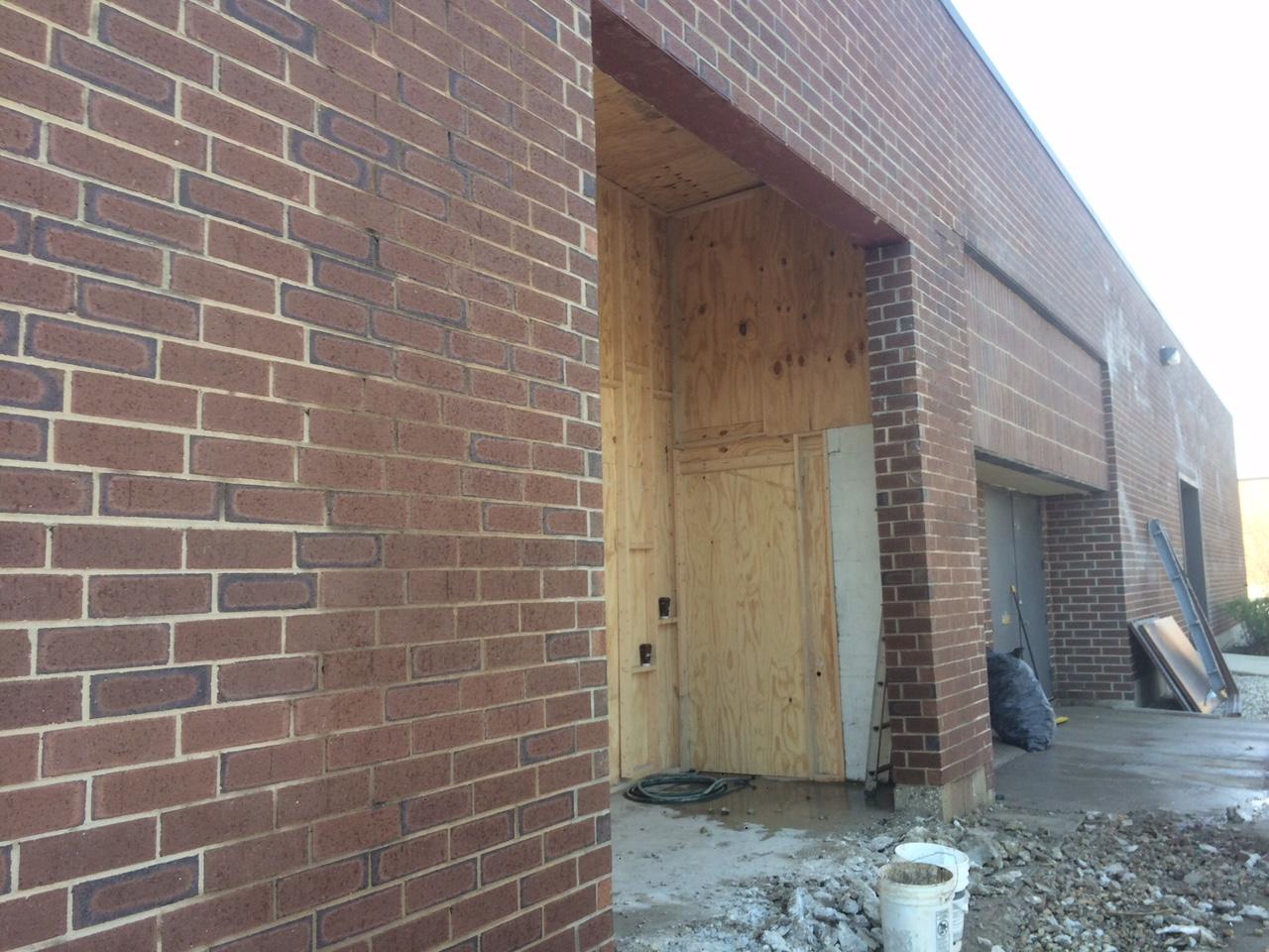 Overhead Door Rough Opening Block Wall The Garage Journal Board