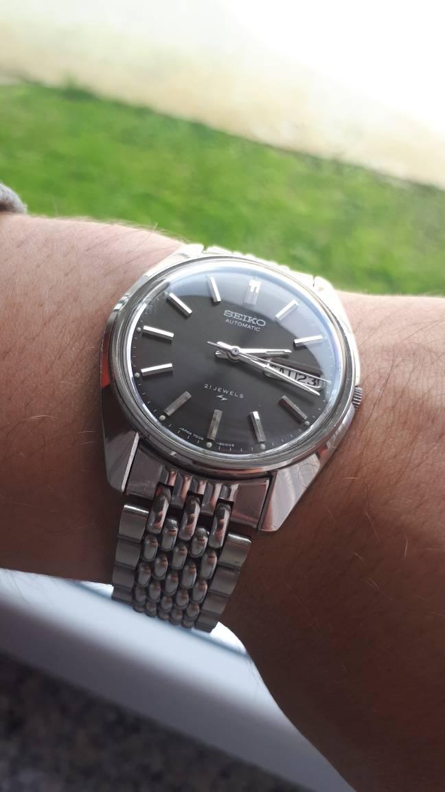 Izlazi na vintage seiko sat