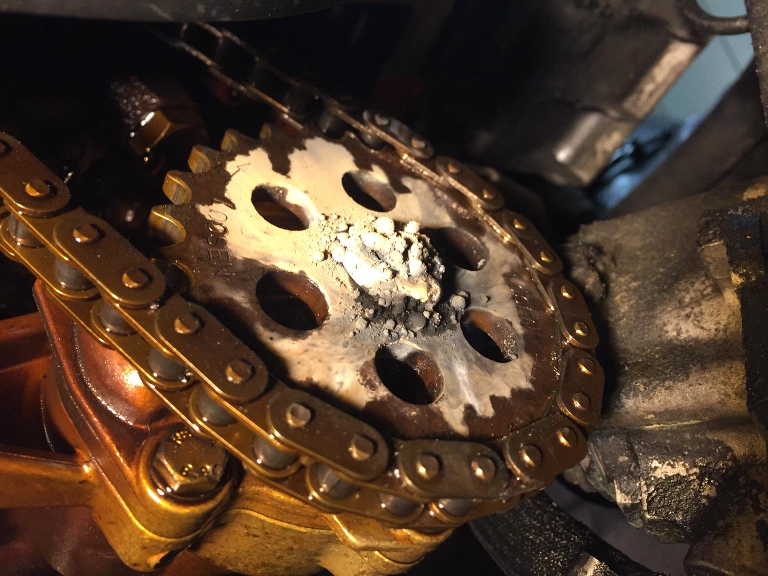 e46 330i oil pump nut