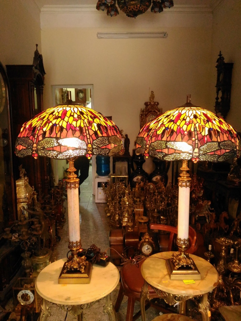 cặp đèn pháp cổ