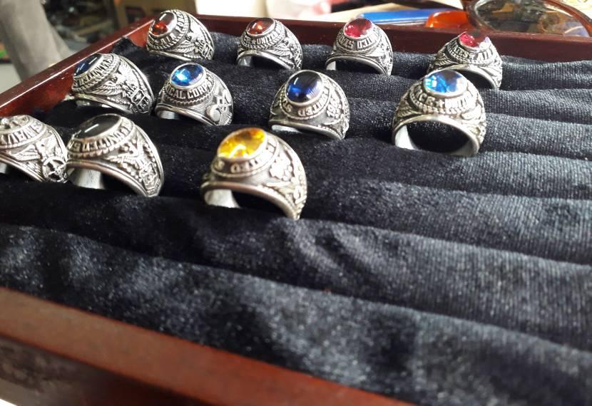 Nhẫn mỹ bạc