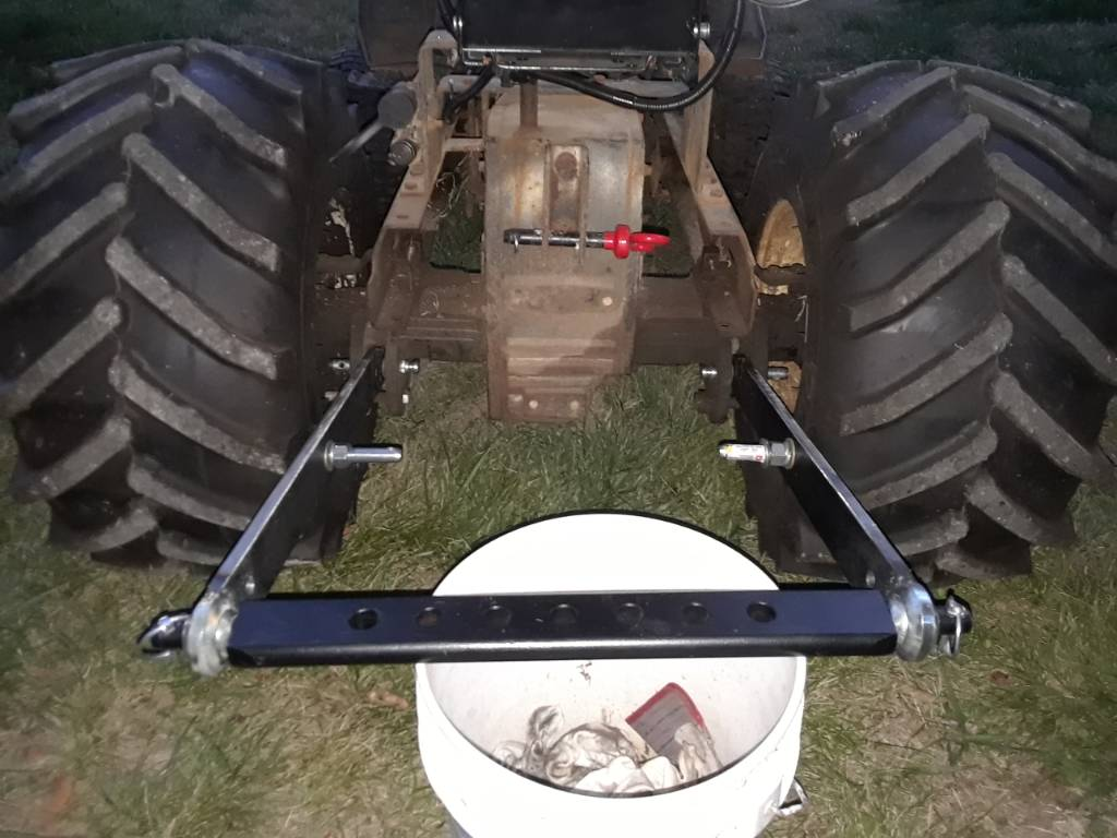 Building a 3 point for my HT20 - MyTractorForum com - The
