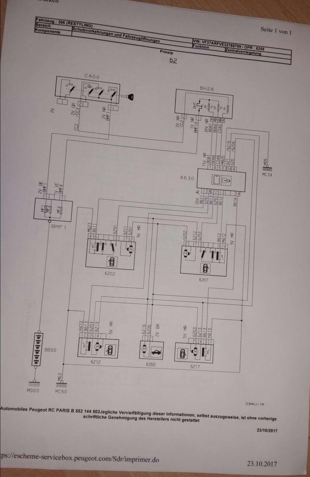 Niedlich Peugeot 106 Schaltplan Bilder - Der Schaltplan ...