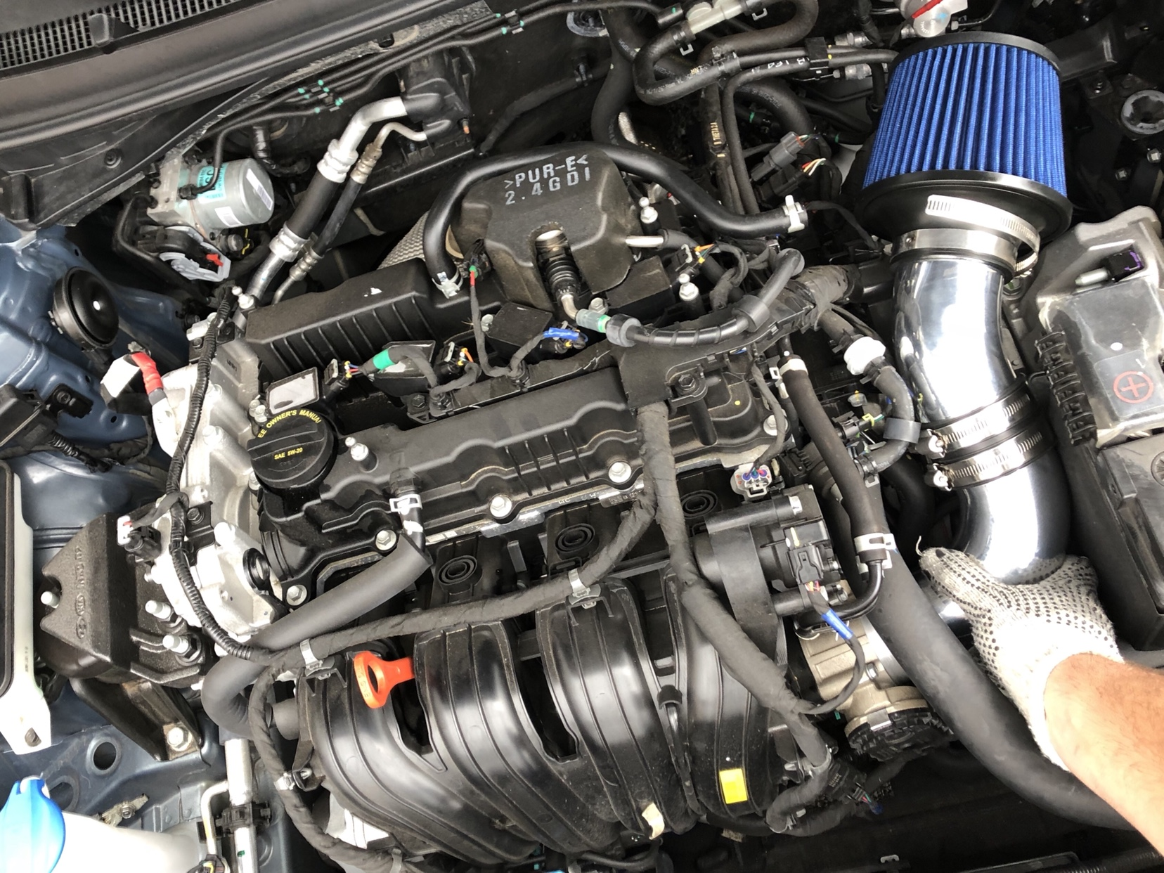 intake air hyundai cold sonata pcv build vacuum tapatalk update lines forums sent iphone using