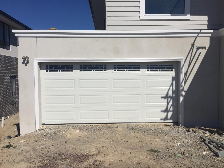 View Topic Surfmist Garage Door Will It Look White