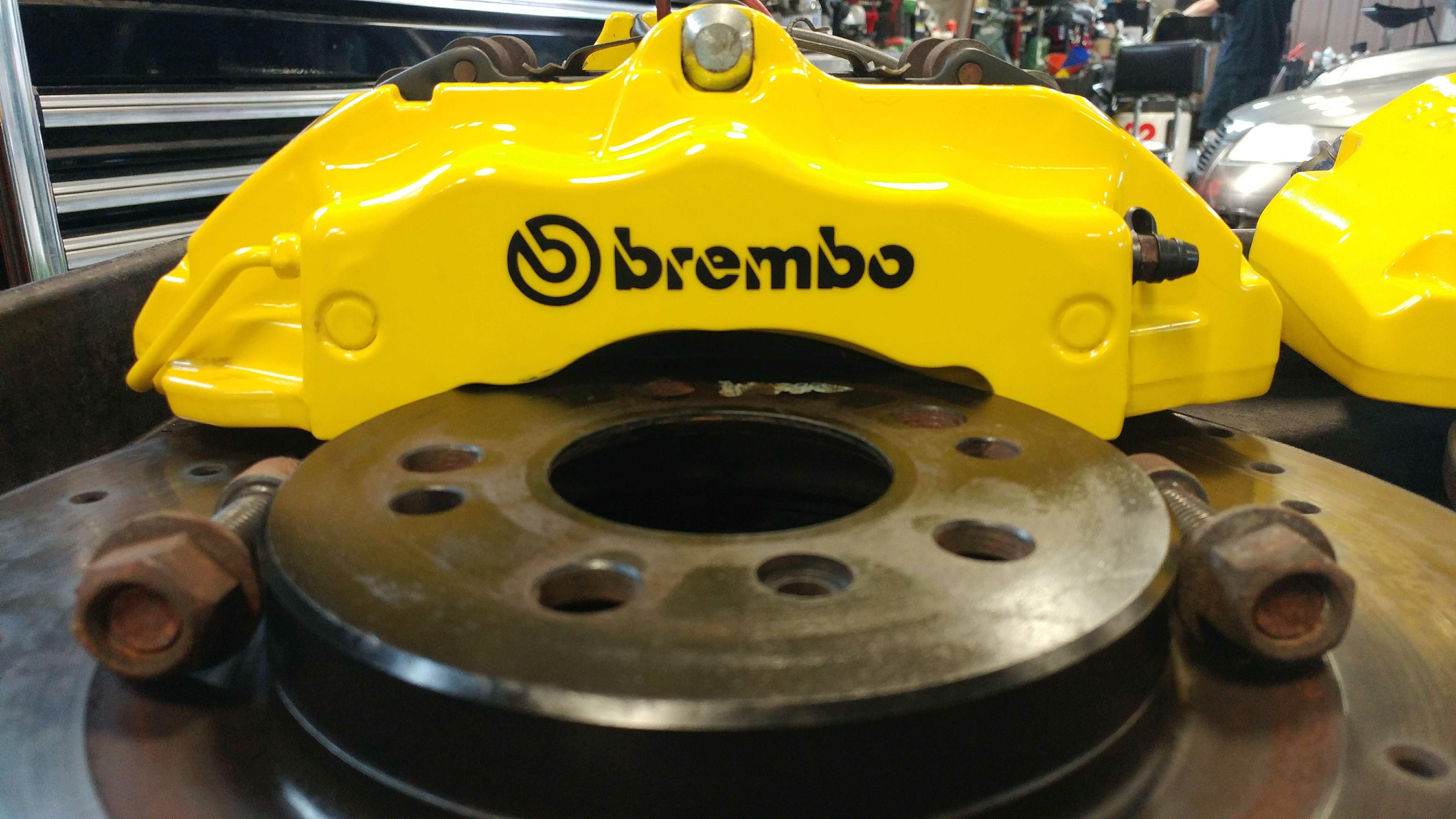 2017 Vw Gli >> VWVortex.com - FS: 18z Brembo BBK with pads and rotors