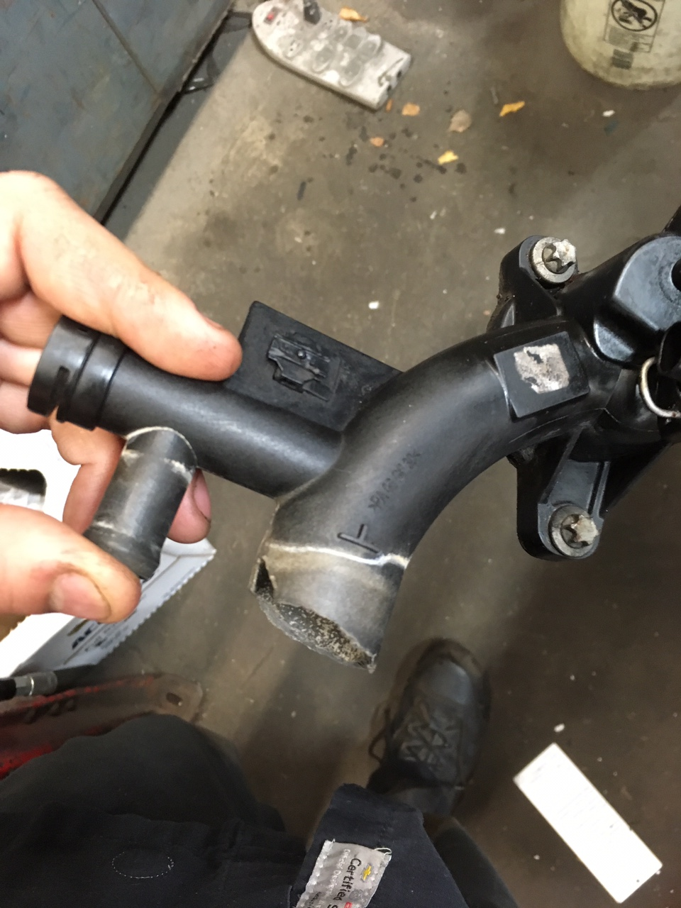 Water temp gauge install - Chevy Sonic Owners Forum