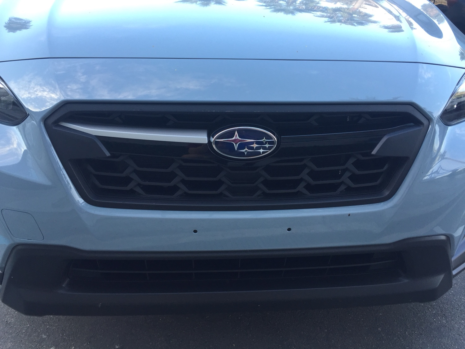 Model Year 2018 And Newer Front Grill Winglets