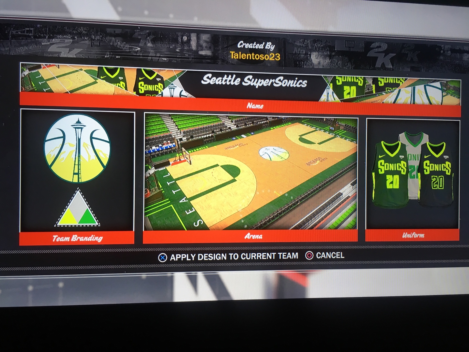 nba 2k18 how to change jersey