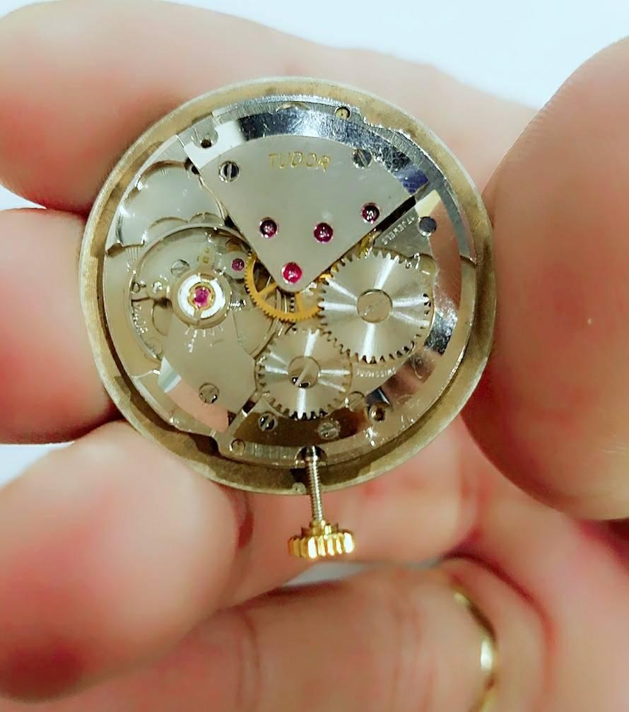 Đồng hồ lên dây 9K GOLD TUDOR PRINCE