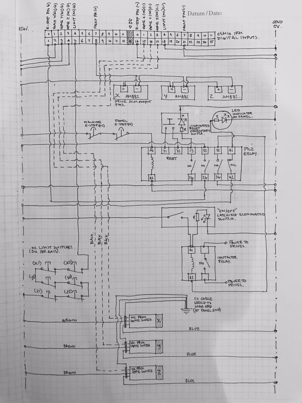Berühmt Cnc Router Schaltplan Bilder - Die Besten Elektrischen ...