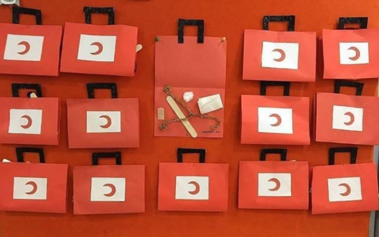 Kızılay Haftası 4 Ayrı Etkinlik 1 Ilk Yardım çantası Malzemesi