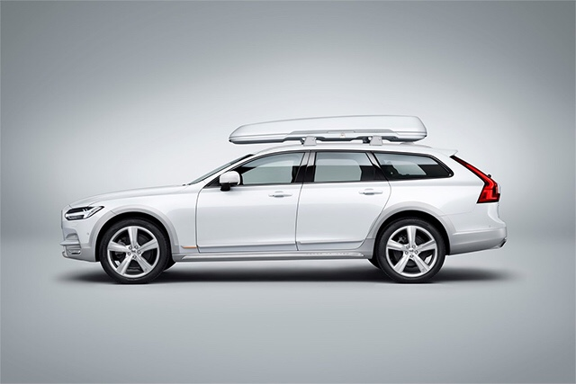 Volvo Garage Amsterdam : Volvo space design roof box page