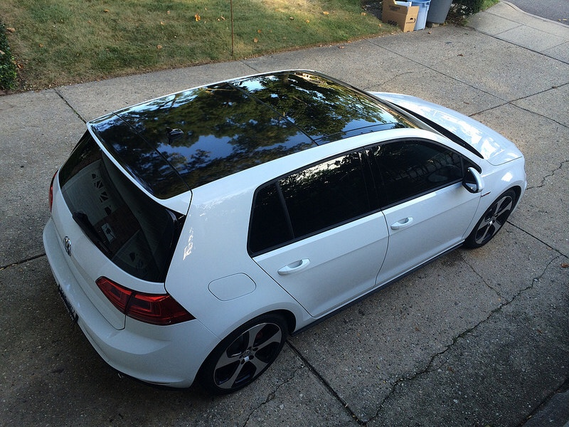Gloss Black Roof Wrap Vwclub Special The Volkswagen Club