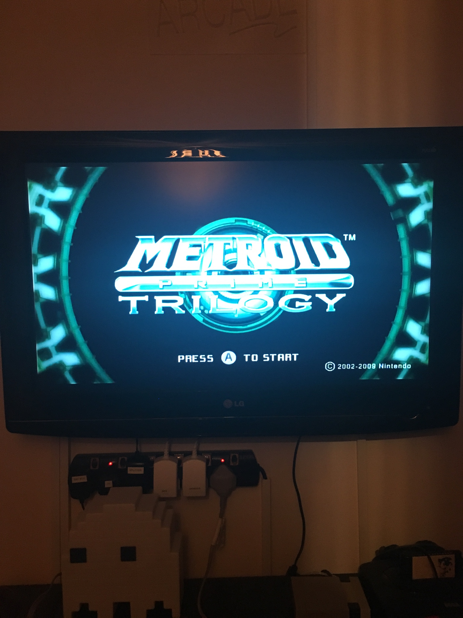 Wii with HDD mod