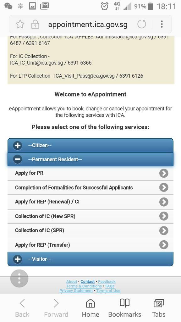 E-PR APPLICATION • Singapore Expats Forum